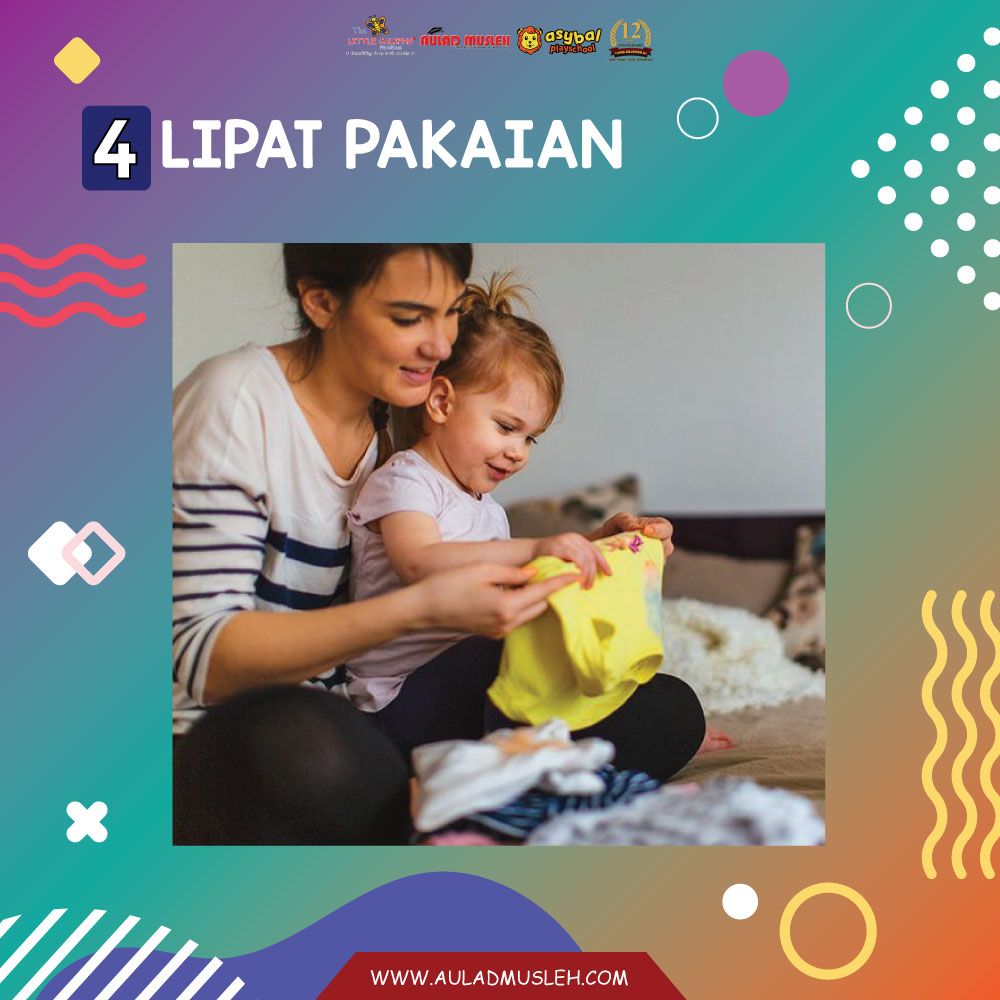 kids cleaning activity
